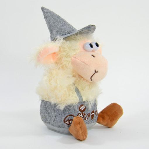Laber-Schaf mit Tracht